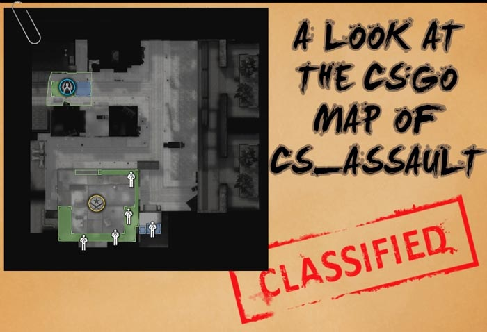 A Look at the Map cs_assault in Counter-Strike: Global Offensive