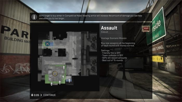 cs_assult Map