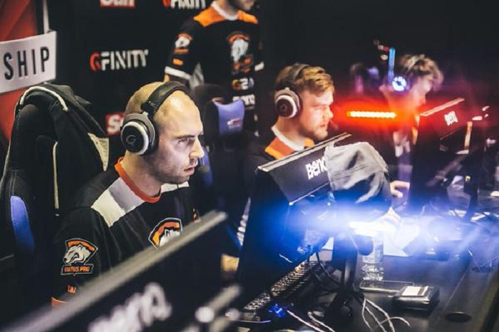 Virtus.Pro playing Gfinity II