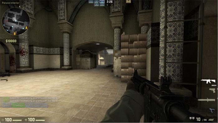 How to Peek in Counter-Strike: Global Offensive Peek Archway 1