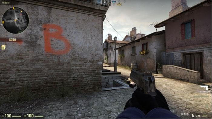How to Peek in Counter-Strike: Global Offensive Peek Bombsite B