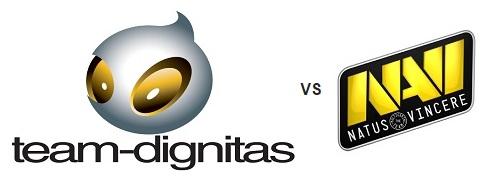 Champions League Team Dignitas VS Natus Vincere