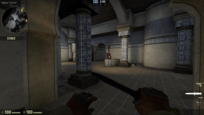A Look at the Map de_dust2 in CSGO Archway