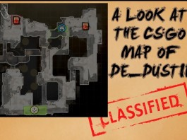 A Look at the Map de_dust2 in CSGO Cover