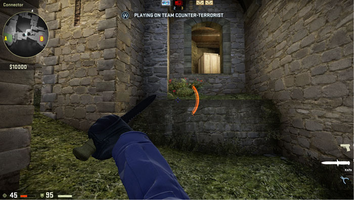 How to Effectively use a Knife in Counter-Strike