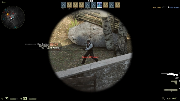 How to be a Better Sniper in Counter-Strike: Global Offensive - Predicting