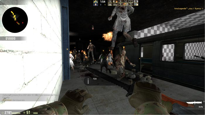 How to Survive a Zombie Apocalypse in CSGO 4