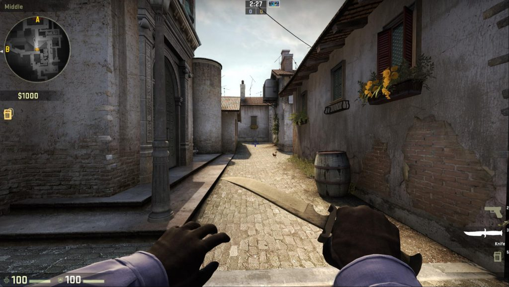 Map de_inferno Access Point B